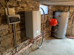 Installation d'une pompe à chaleur LG therma V 16Kw